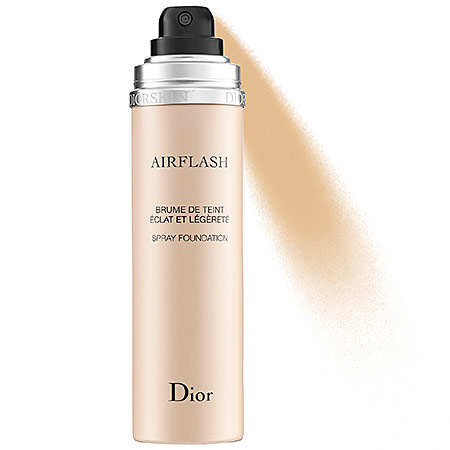 diorskin airflash spray foundation top best foundation dry skin oily skin acne prone 2013