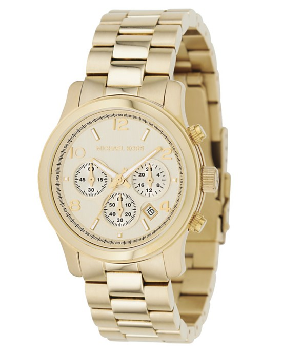 michael kors watch watches top best rose gold gold runway white 2013