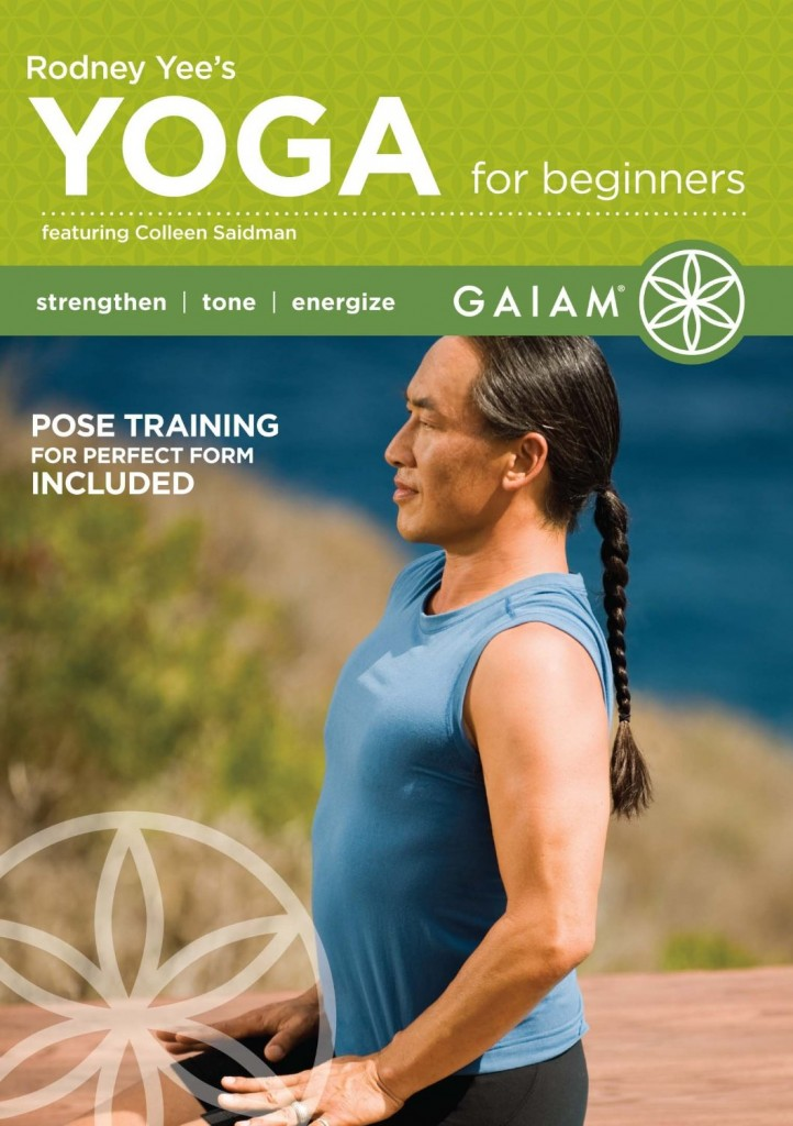 yoga for beginners dvd workout video videos rodney yee