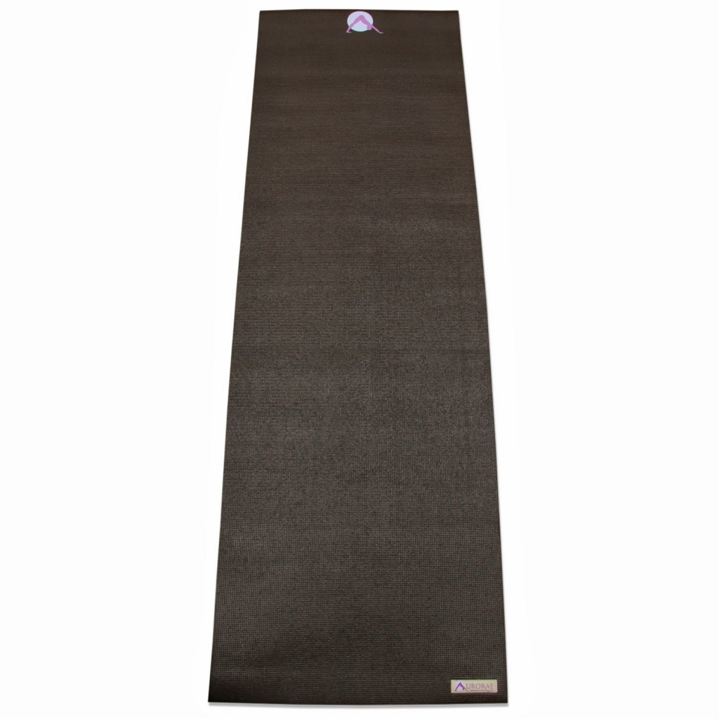 yoga mats thick extra thick brown yoga mat