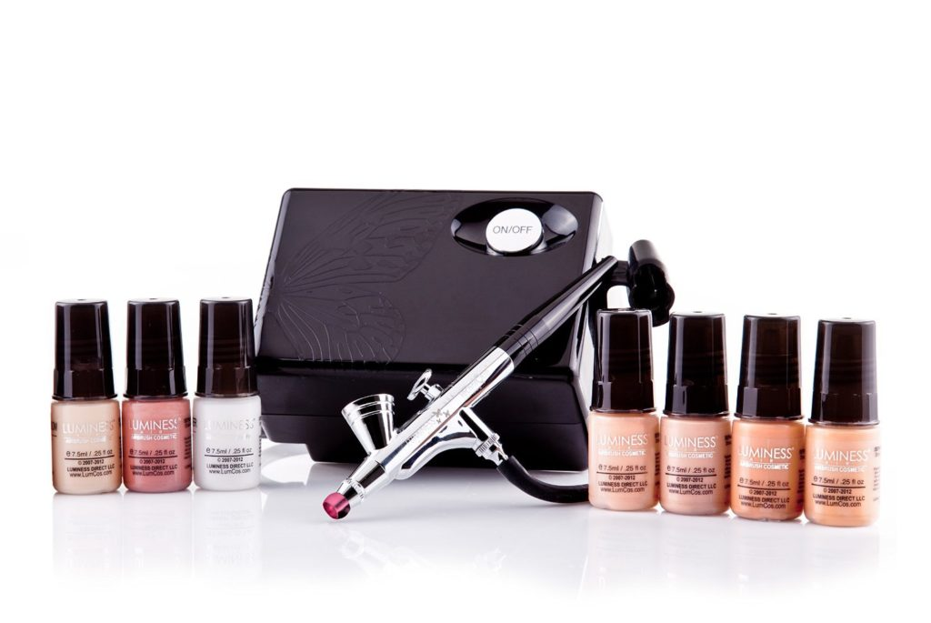 best airbrush makeup system luminess