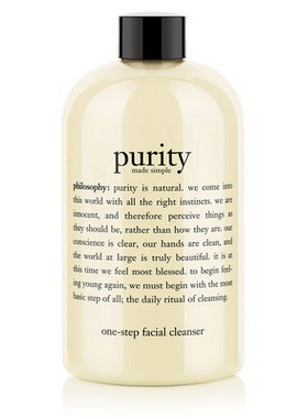 philosophy purity made simple face wash cleanser