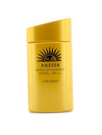 shiseido anessa sunscreen