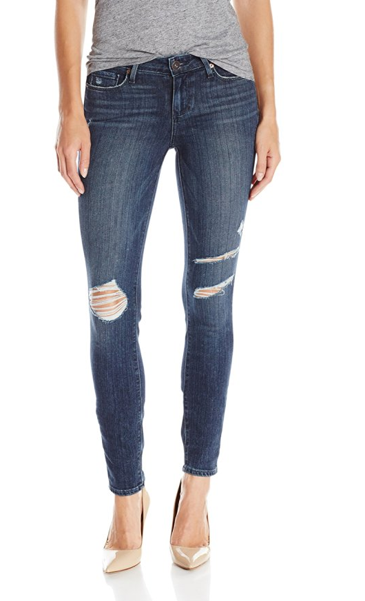 best distressed jeans ripped jeans paige